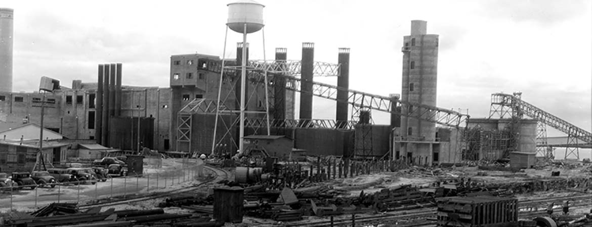 Fernandina Mill Construction